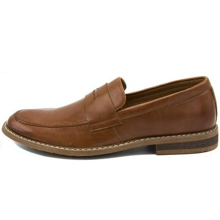 4cb850ae833 Nautica Men s Dress Shoes Slip On Oxford Moc Toe Loafer - image 1 ...