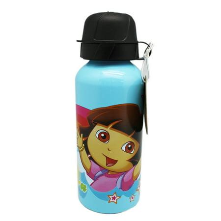 Dora the Explorer Dora and Boots Rainbow Theme Portable Water Bottle