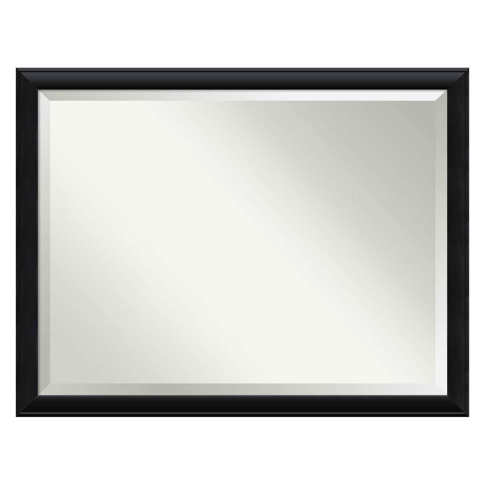 Amanti Art Nero Bathroom Mirror by