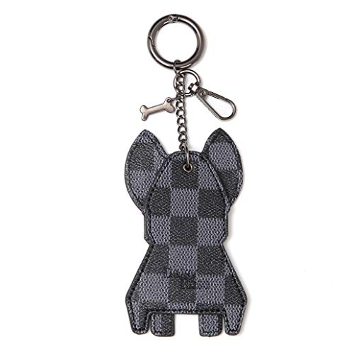 SOCCER-WHITE//BLACK Key Fobs really cute keychains