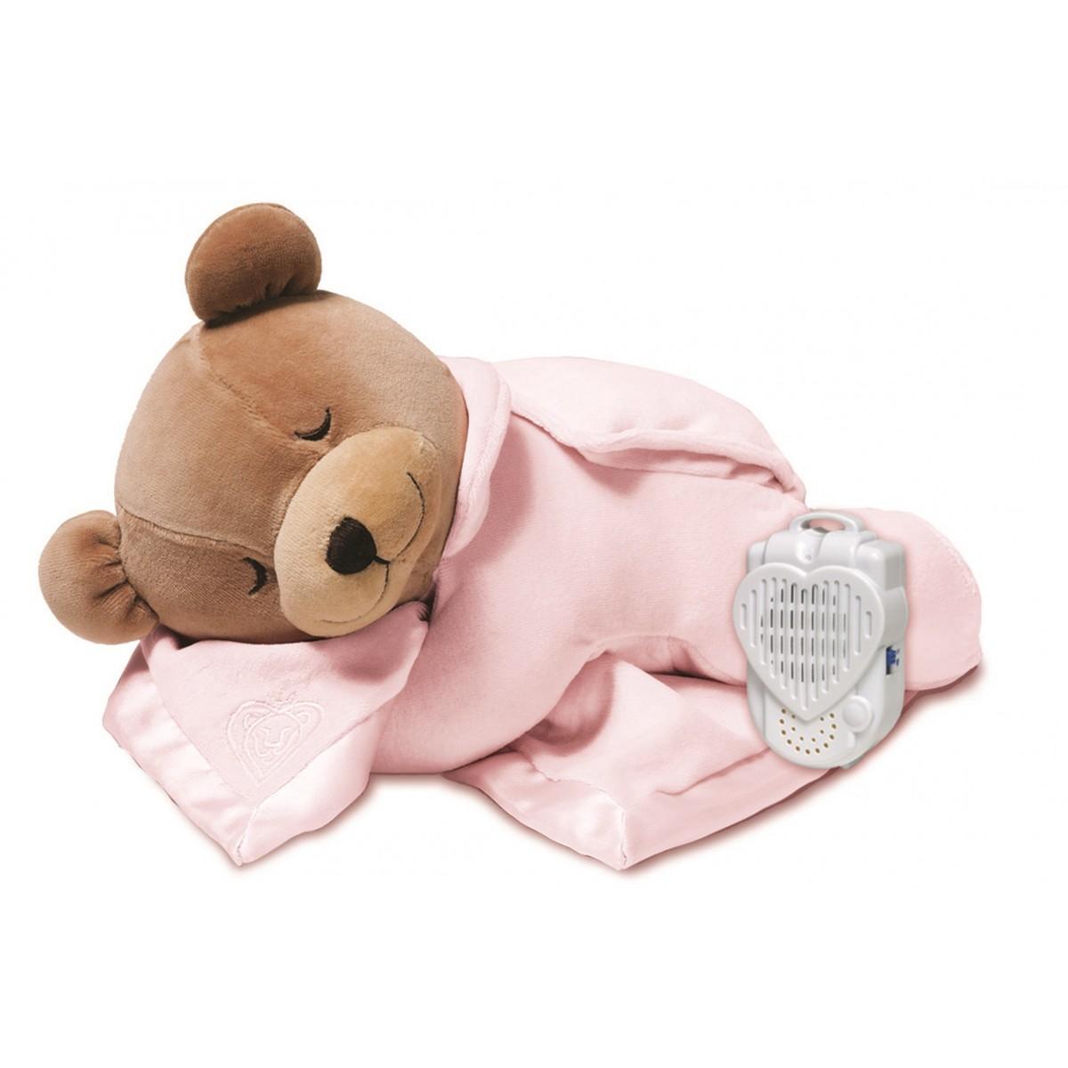 Price Lionheart Original Slumber Bear, Pink