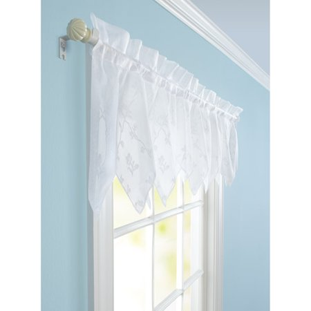 Better Homes And Gardens Lace Valance White