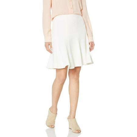 Nine West Women's Textured Skirt, Ivory, 6 - image 1 de 1