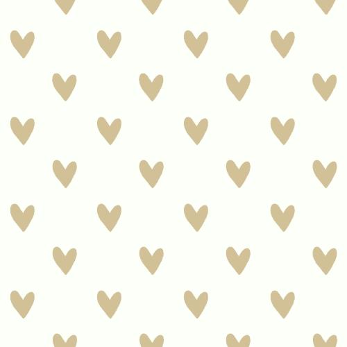RoomMates Heart Spot Peel & Stick Wallpaper