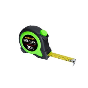 Wire gauge measuring tool standard swg 0 36 precision measuring komelon wsl2830 30ft self lock tape measure greentooth Image collections