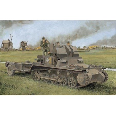 6577 1/35 Flakpanzer I Premium Edition Multi-Colored