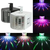 DJ Lights Sound Music Activated 18W RGB LED Strobe Effect Stage Light DMX512