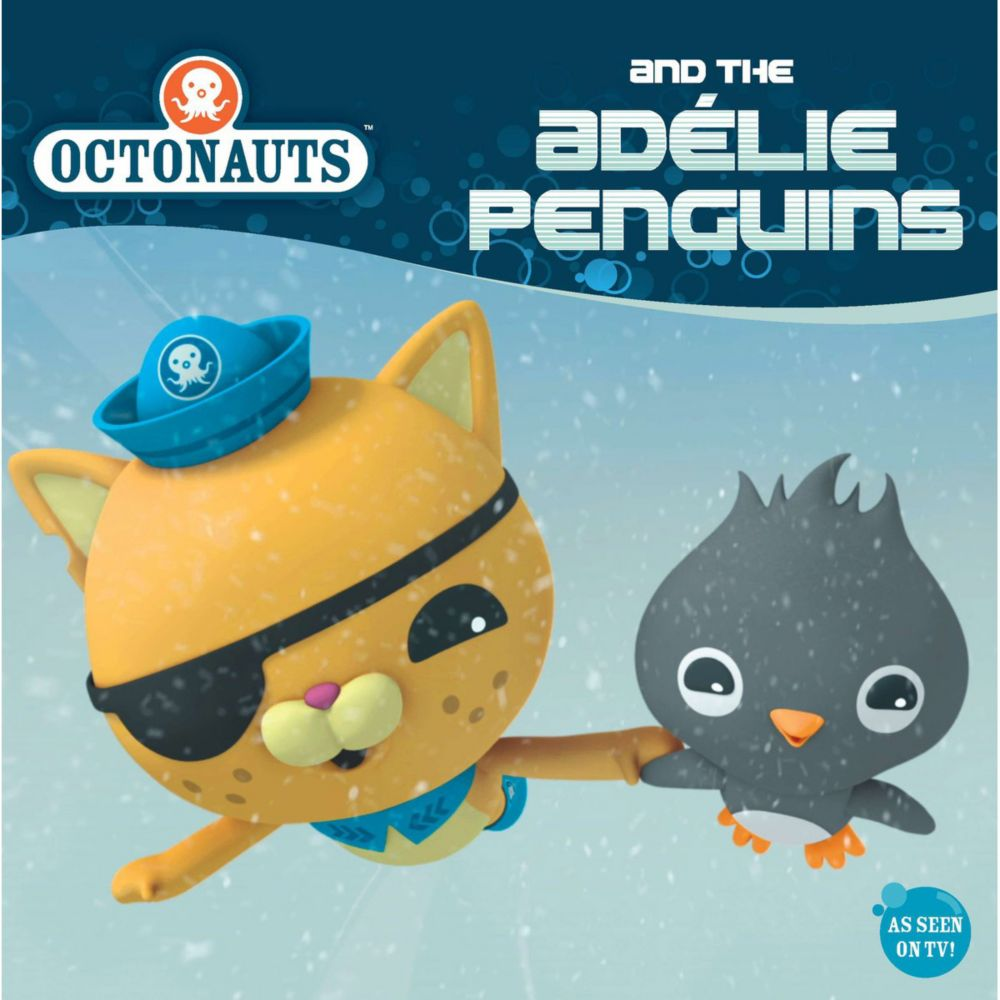 Octonauts and the Adelie Penguins - 8x8 Book - Party Supplies