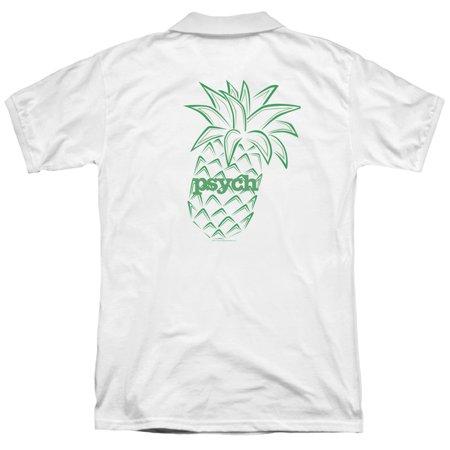 Psych Psych Pineapple Back Print Mens Polo Shirt Walmart Com