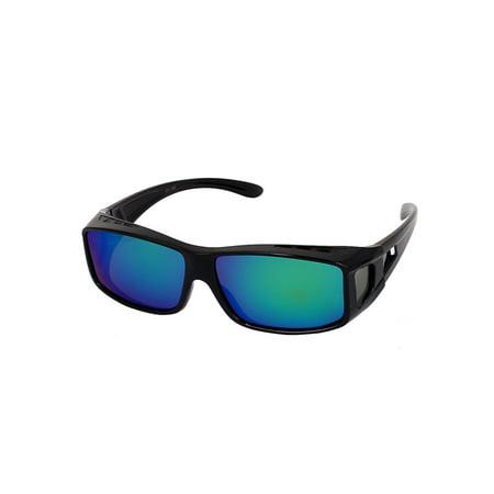 Unique Bargains Impact Resistant Outdoor Sports Polarized Sunglasses Scratch (Bargain Sunglasses)