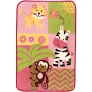 Garanimals Girls' Plush Throw