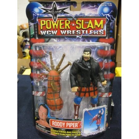 Wwe Roddy Piper (WCW Power Slam Wrestlers Roddy Piper distributed by Toy Biz)