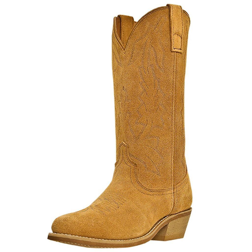 Laredo Western Boots Mens Jacksonville Cowboy Natural Tan 68216 by Laredo