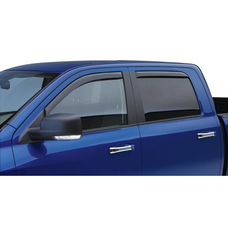 EGR 576005 Rainguard Window Visor Slim Design; In-Channel; Matte Black; Acrylic; Set of 4 - image 1 of 2