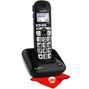 Clarity D703 Moderate Hearing Loss Digital Cordless Phone With Circuit City Microfiber Cleaning Cloth