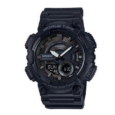 Casio Men's Black-Out Analog-Digital Watch