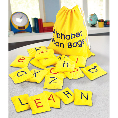 Educational Insights Alphabet Bean Bags