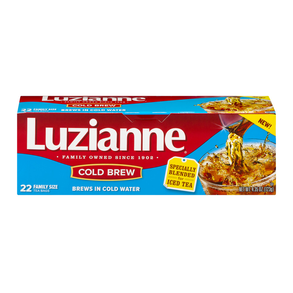 Luzianne Cold Brew Iced Tea -22 CT