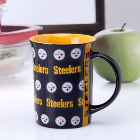 Pittsburgh Steelers 15oz. Line Up Mug - No Size](Steelers Accessories)