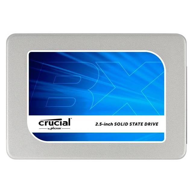 "Crucial CT240BX200SSD1 Crucial BX200 240 GB 2.5"" Internal Solid State Drive - SATA - 540 MB/s Maximum Read Transfer Rate - 490 MB/s Maximum Write Transfer Rate"