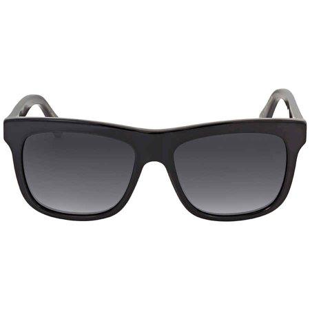 GUCCI GG0158S 001 Black Square Sunglasses