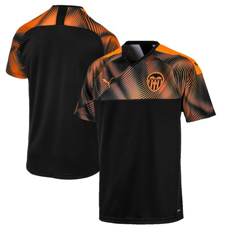 Valencia CF Puma 2019/20 Away Replica Jersey - Black
