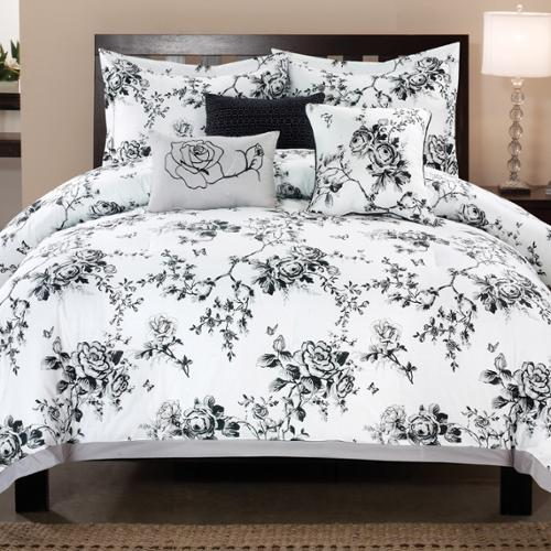 Rose Hill 6-piece Cotton Comforter Set King