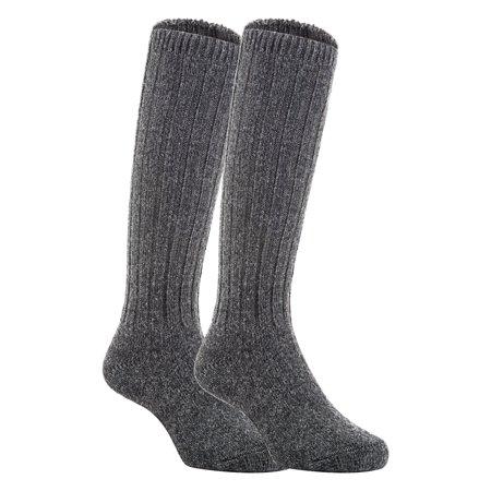 cab35bb79 Lian Style - Lian Style Unisex Baby Children 2 Pairs Knee-high Wool Boot  Blend Boot Socks Size 0-2Y(Dark Gray) - Walmart.com