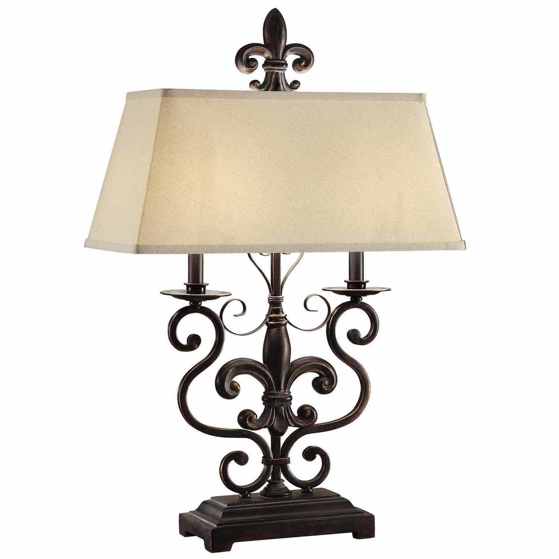 Le Fleur De 30-Inch Table Lamp, Bronze