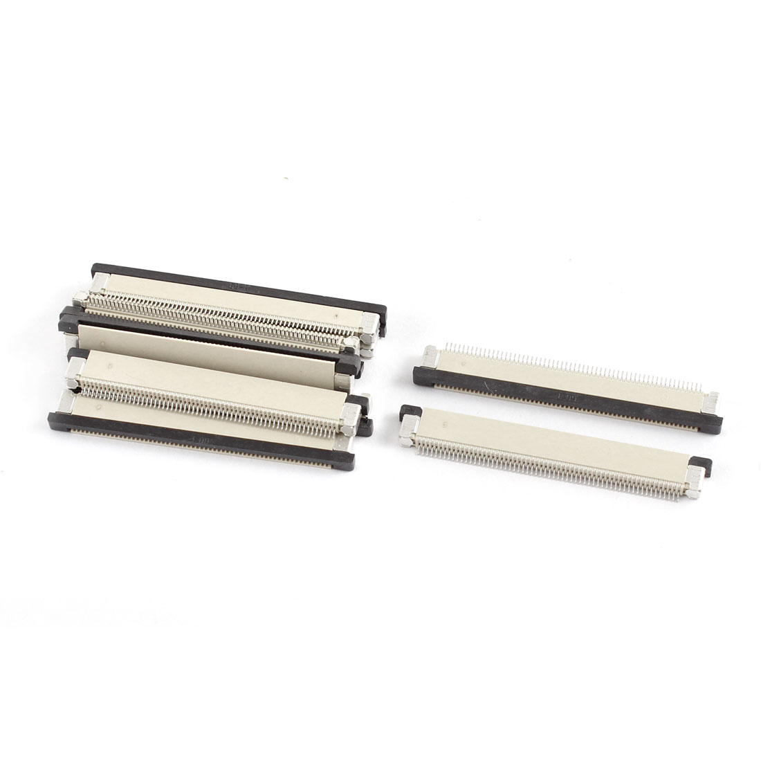 10Pcs Bottom Port 60Pin 0.5mm Pitch FFC FPC Ribbon Sockets Connector - image 1 of 1
