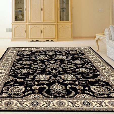 Arial Traditional Oriental Kashan Area Rug or Runner Rug ()