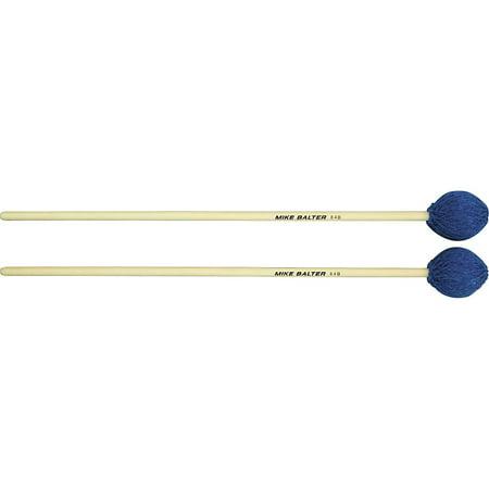 Mike Balter Contemporary Series Birch Marimba Mallets Blue Yarn Medium