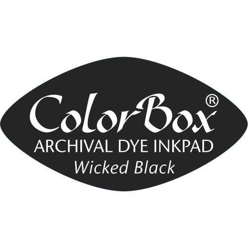 ColorBox Archival Dye Inkpad Cat's Eye Wcked Blck