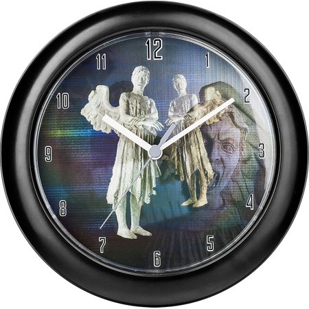 Doctor Who Weeping Angel Lenticular Wall Clock - Weeping Angel Kitty