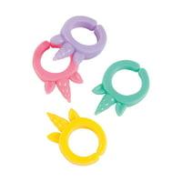 Fun Express - Unicorn Ring - Jewelry - Jewelry General - Rings - 12 Pieces