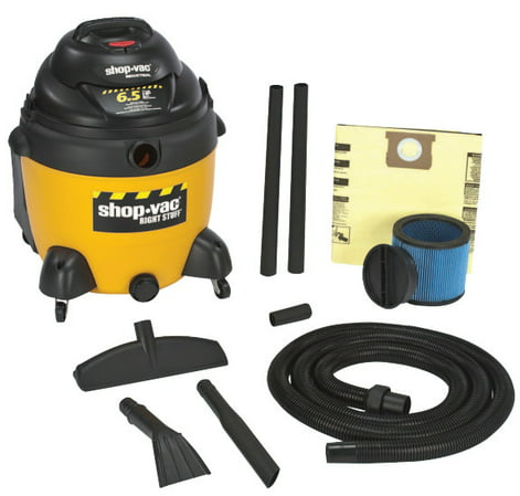 Shop-Vac 677-962-53-10 18 Gallon 6.5 Peak HP Right Stuff Wet/Dry Vacuum