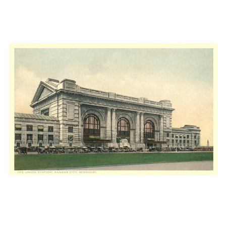 Union Station, Kansas City, Missouri Print Wall Art - Party City Kansas City Missouri