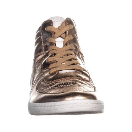 Dolce Vita Nate High Top Sneakers, Rose Gold Leather - image 3 de 6