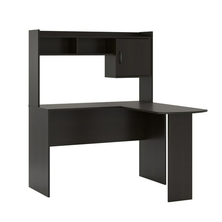 new product 1c3d3 a2e2f Mainstays L Shaped Desk In Espresso