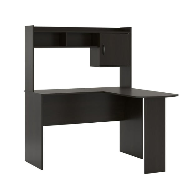 Mainstays L Shaped Desk In Espresso