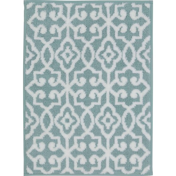 Better homes and gardens thick and plush bath rugs for Better homes and gardens bathroom rugs