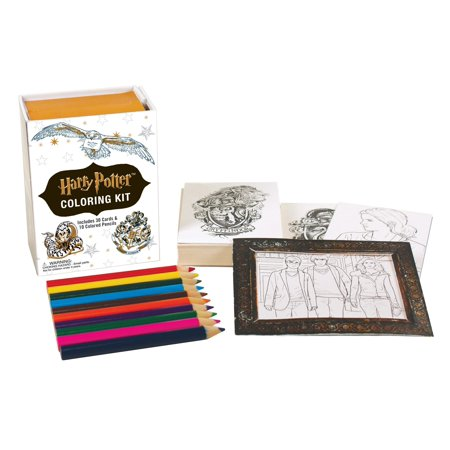 Harry Potter Coloring Kit for $<!---->