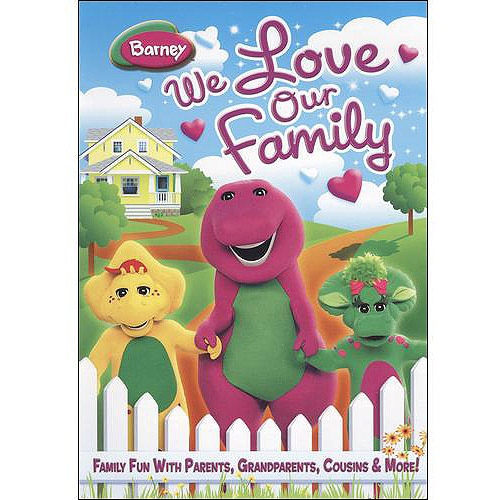 Barney: We Love Our Family (Full Frame)