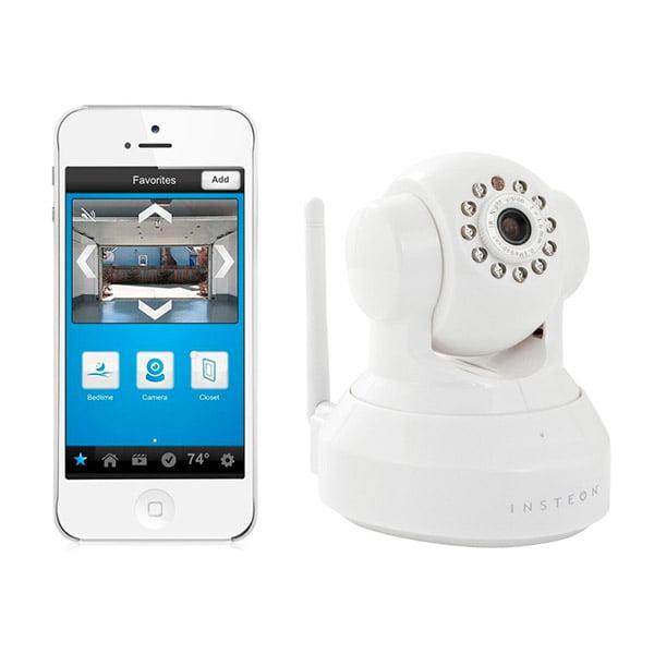 Insteon Wireless HD 720P IP Camera w/ Pan, Tilt & Night Vision - White