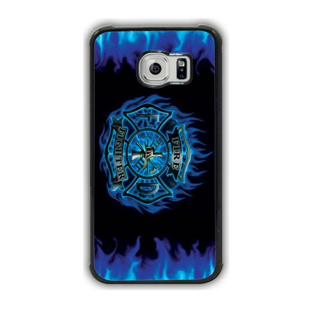 Edge Fighter (Firefighter Logo Galaxy S7 Edge Case )