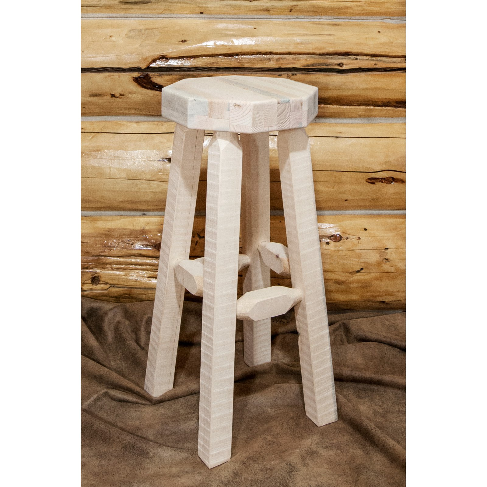 Montana Woodworks 30 in. Homestead Backless Barstool