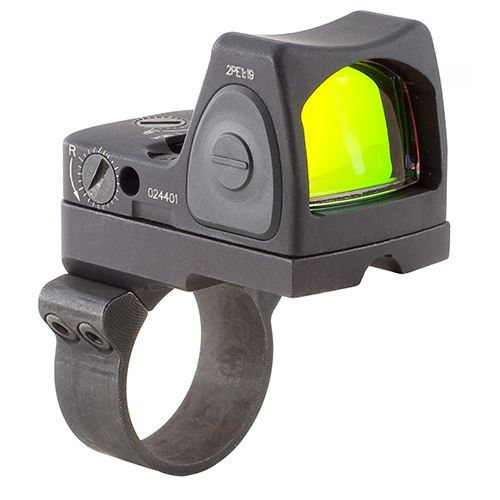 Trijicon RMR Type 2 Adjustable LED Sight 6.5 MOA Red Dot Reticle with RM36 ACOG Mount Black RM07-C-700684