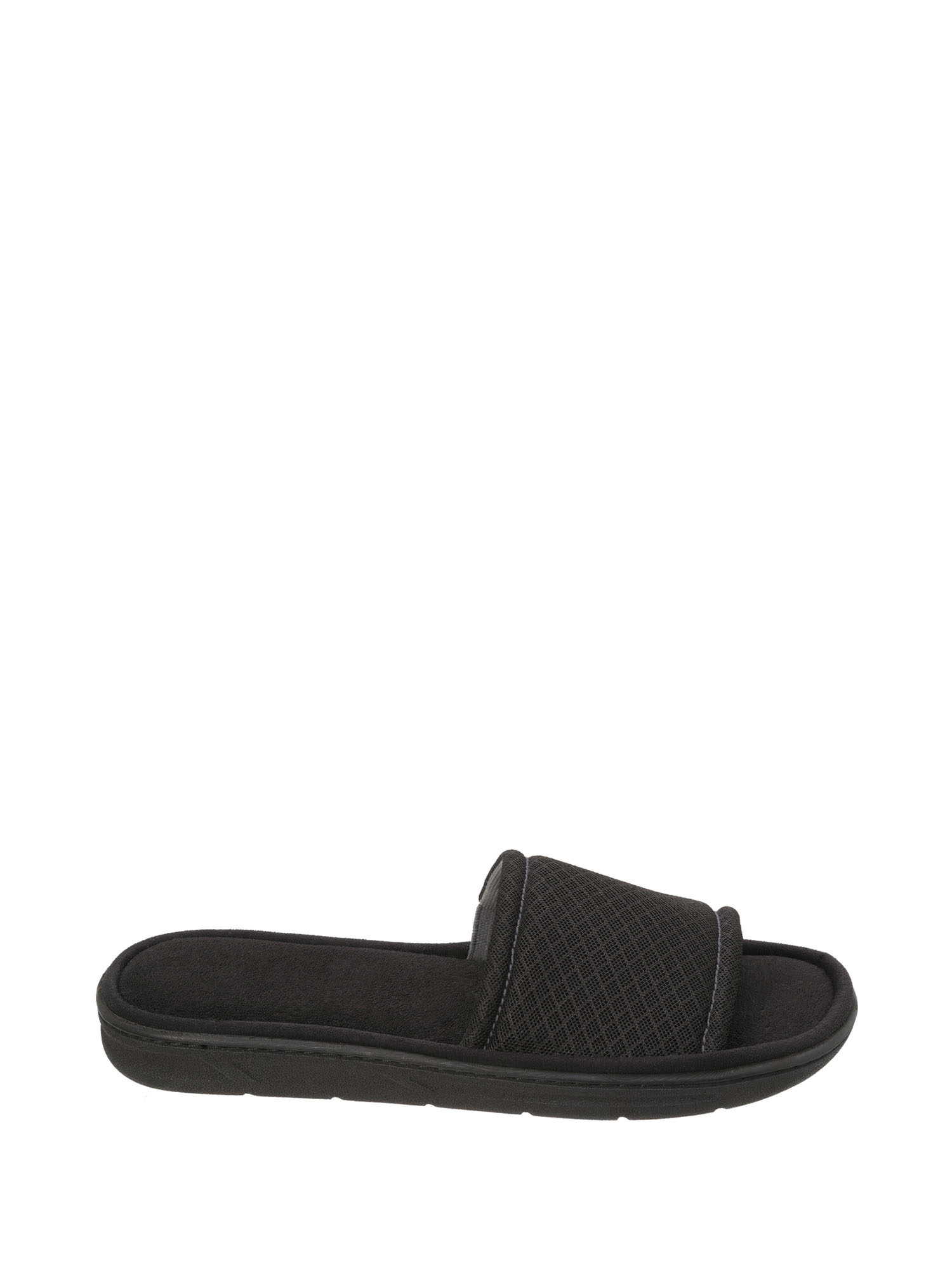DF by Dearfoams Men's Mesh Slide Slipper