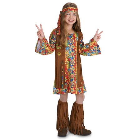 Fringe 60's Hippie Child Costume - Childs Hippie Costume