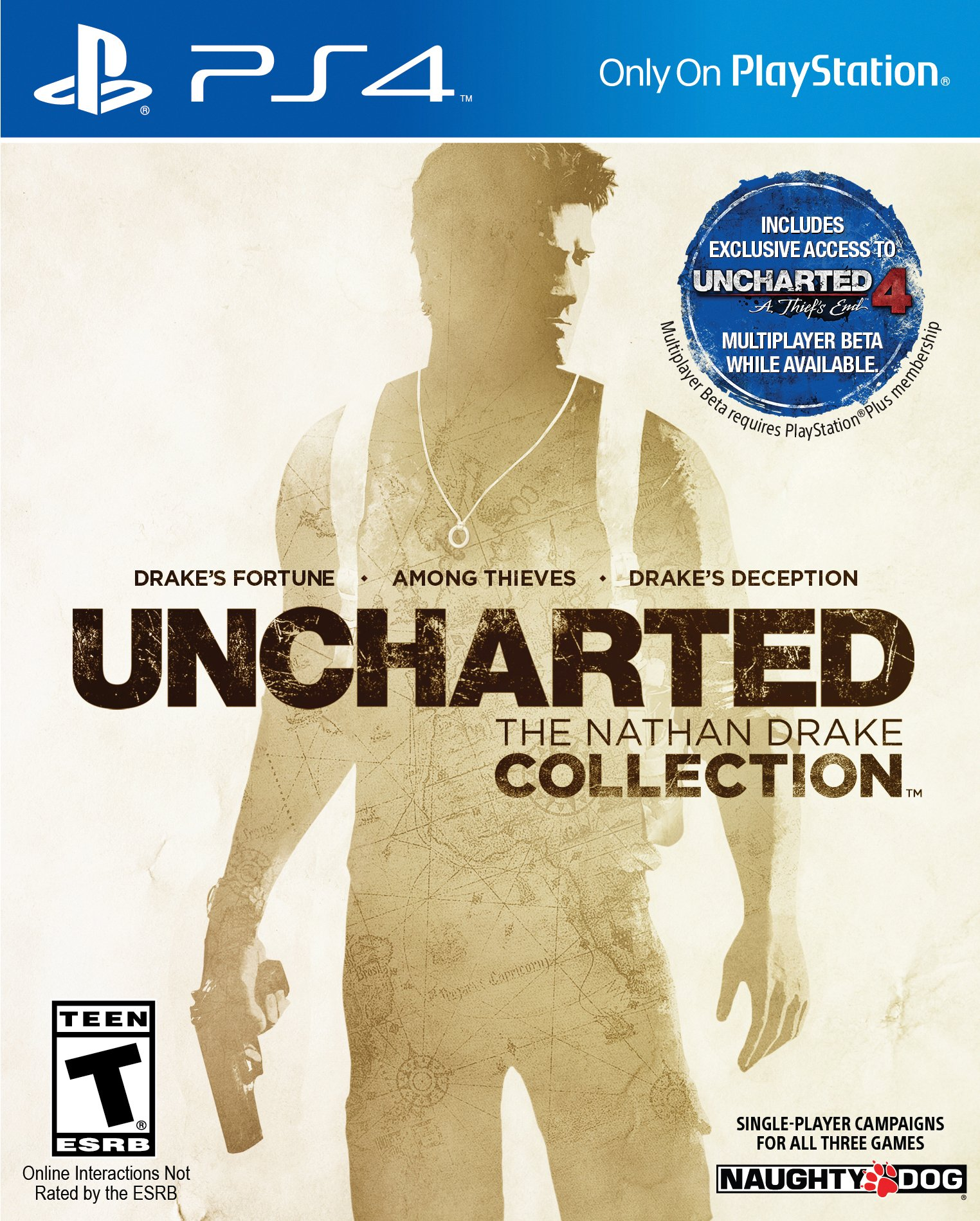 Sony Uncharted: The Nathan Drake Collection - Action/adventure Game - Playstation 4 (3000683)